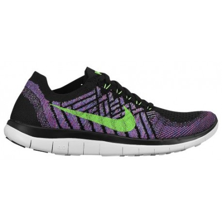 huge discount 72520 c1853 Nike Free 4.0 Flyknit 2015 - Women's - Running - Shoes - Black/Flash  Lime/Fuchsia Flash/Fuchsia-sku:17076003