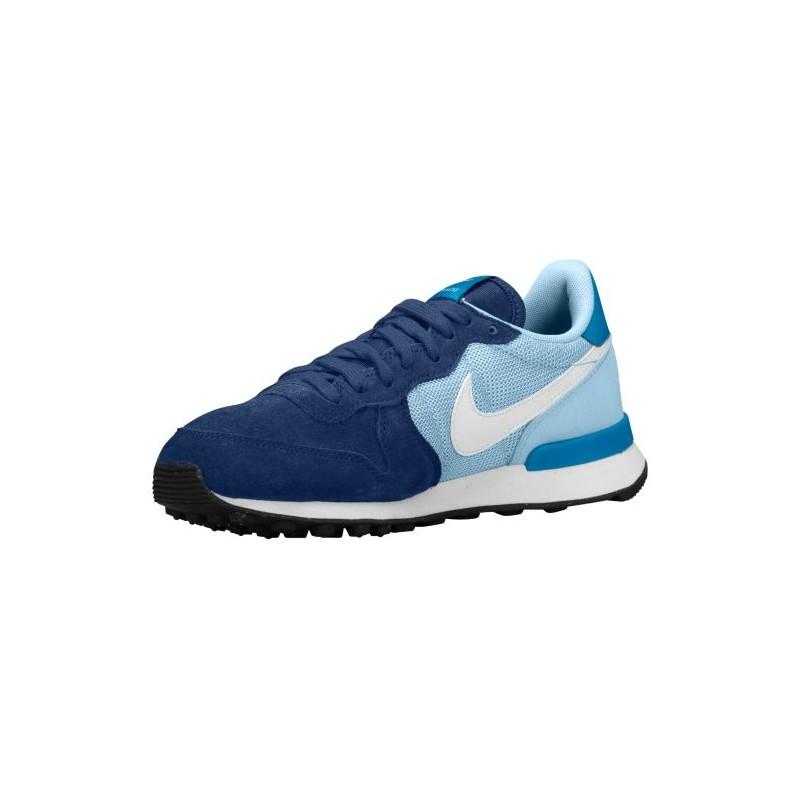... Nike Internationalist - Women's - Running - Shoes - Blue Force/Ice Blue/ Black ...
