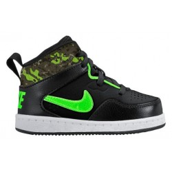 Nike First Flight - Boys' Toddler - Basketball - Shoes - Black/Green Strike/Bamboo/Cargo Khaki/Medium Olive-sku:25134007