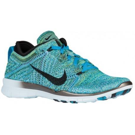 Nike Free Tr Flyknit Lagon Bleu