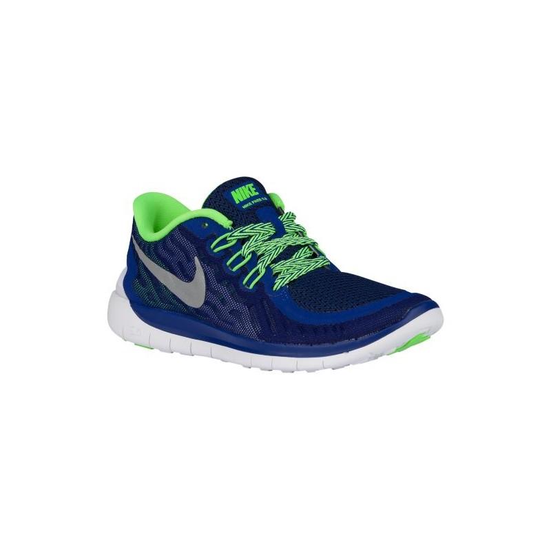 Nike Free 5.0 2015 - Boys' Grade School - Running - Shoes - Deep Royal ...