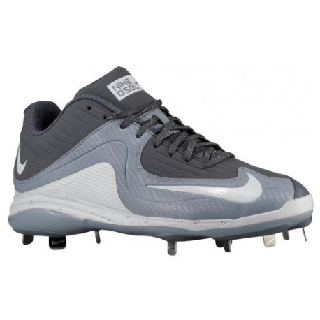Nike Air MVP Pro Metal 2 - Men's - Baseball - Shoes - Light Graphite/White/Stealth-sku:84685011