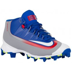 Nike Huarache  2K Filth Keystone Mid BG - Boys' Grade School - Baseball - Shoes - Game Royal/University Red/Stealth/White-sku:07