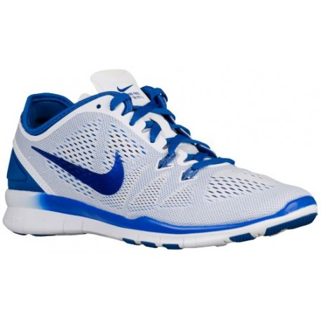 cheaper fe367 6938a Nike Free 5.0 TR Fit 5 - Women's - Training - Shoes - White/Game  Royal-sku:04674106