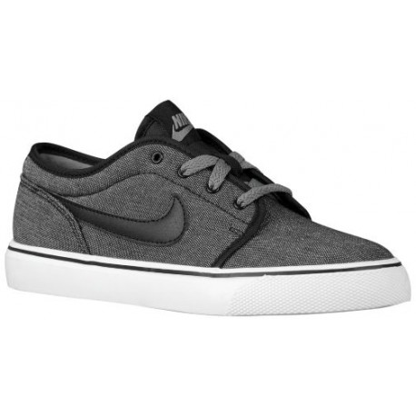Nike Toki Low - Boys' Grade School - Casual - Shoes - Black/Cool