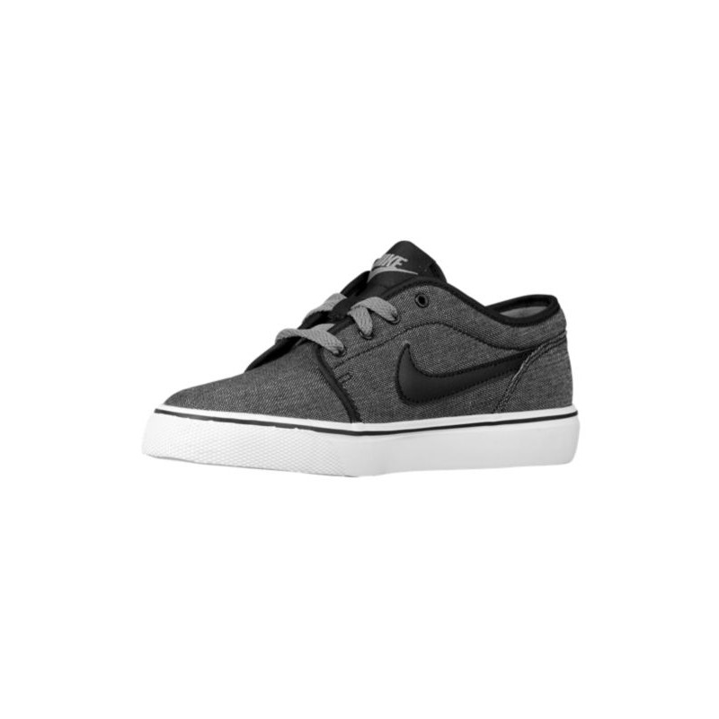 ... Nike Toki Low - Boys' Grade School - Casual - Shoes - Black/Cool ...