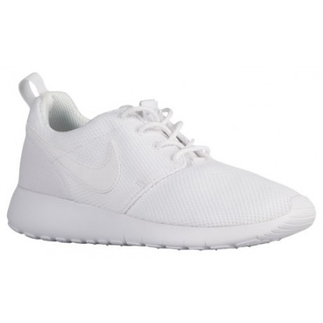 hot sales a78d9 57474 Nike Roshe One - Boys' Grade School - Running - Shoes - White/White/Wolf  Grey-sku:99729102
