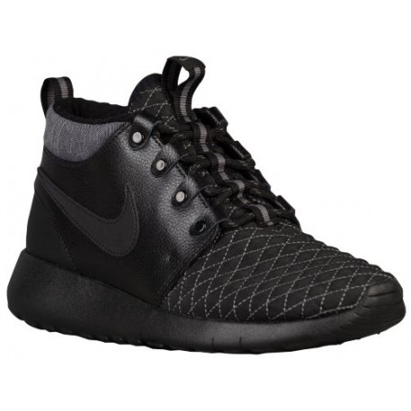 9e49626e1ad0 black and grey nike roshe