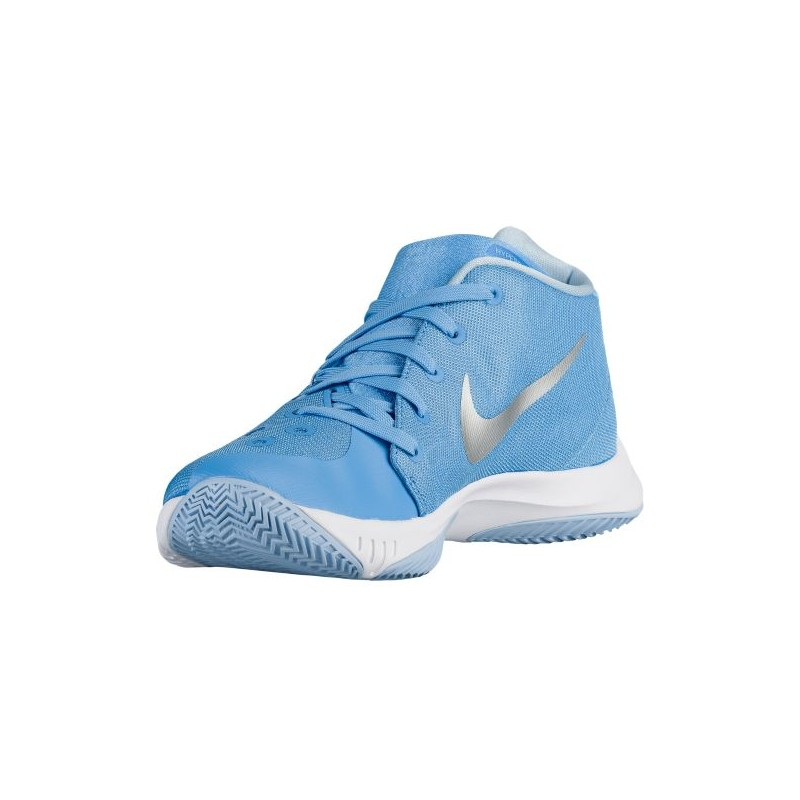 ... Nike Zoom Hyperquickness 2015 - Men's - Basketball - Shoes - University  Blue/Metallic Silver ...