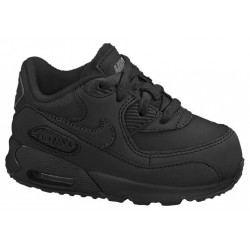 Nike Air Max 90 - Boys' Toddler - Running - Shoes - Black/Black/Cool Grey-sku:08110091