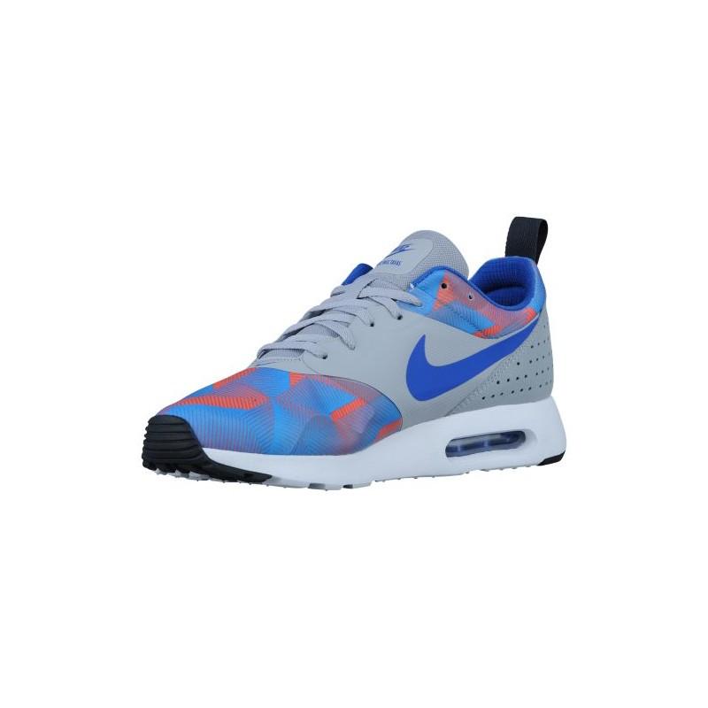 Nike Air Max Tavas Men S Running Shoes Wolf Grey Photo Blue
