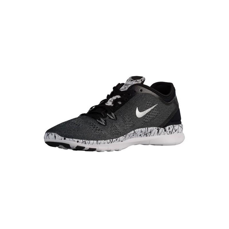 meet c92b6 5c7d6 ... Nike Free 5.0 TR Fit 5 - Women s - Training - Shoes - Black White ...