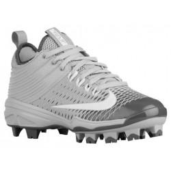 Nike Trout 2 Pro BG - Boys' Grade School - Baseball - Shoes - Mike Trout - Wolf Grey/White/Dark Grey-sku:07132001