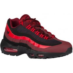 Nike Air Max 95 - Men's - Running - Shoes - Team Red/Black/University Red-sku:49766600