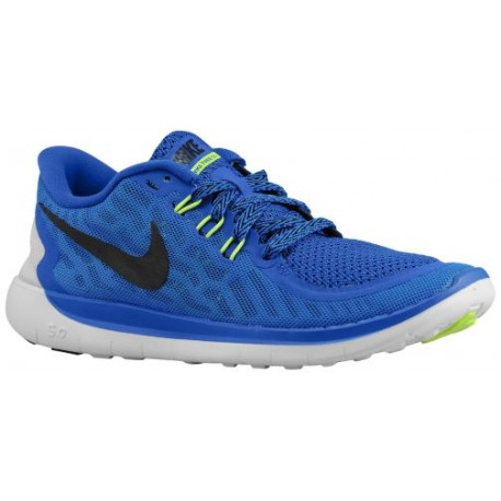 Nike Free 5.0 2015 Boys Grade School Game Royal/Neo Turquoise/Light Retro/Black Running Shoes