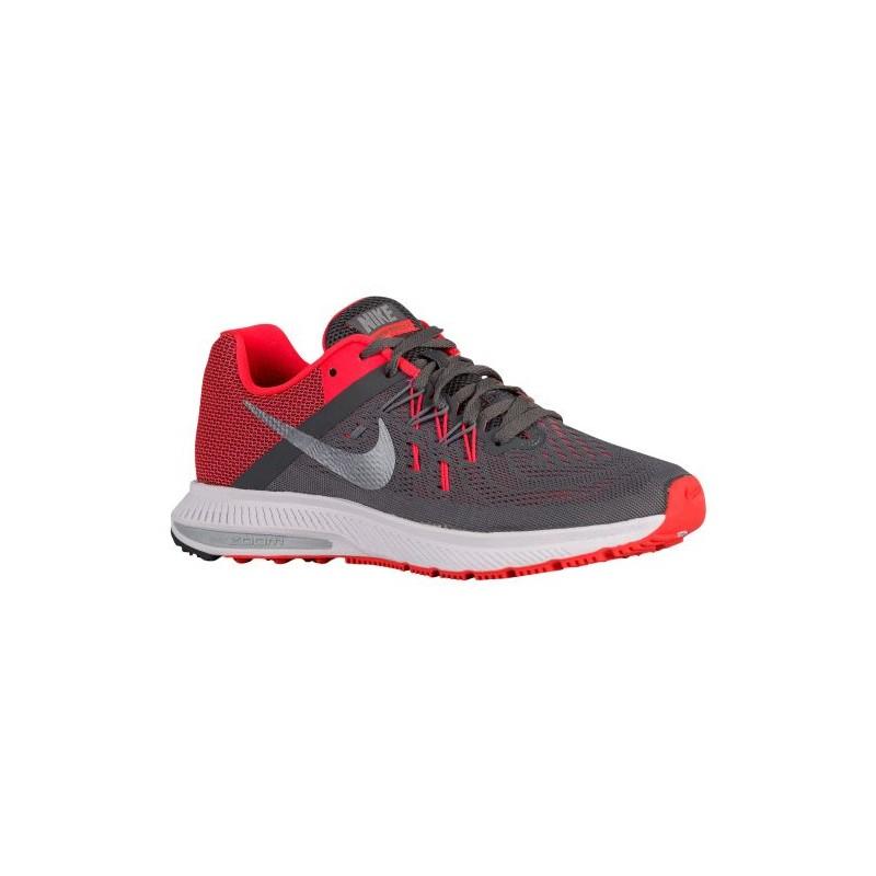 Nike Air Zoom Winflo 2 - Women's - Running - Shoes - Dark Grey/Bright ...