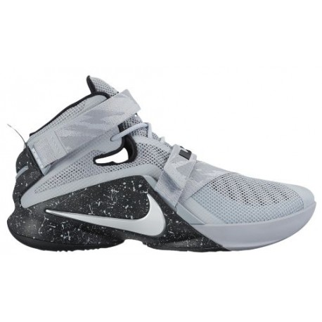 official photos 3cfdf cbc82 Nike Zoom Soldier 9 - Men's - Basketball - Shoes - LeBron James - Wolf  Grey/White/Black-sku:49490010