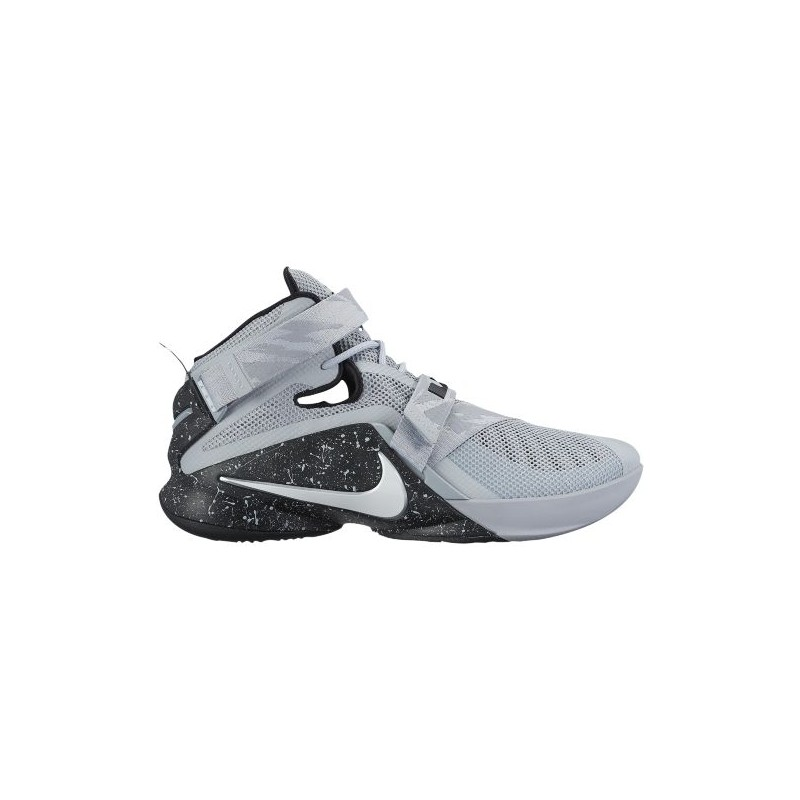new products d524b 748ae Nike Zoom Soldier 9 - Men s - Basketball - Shoes - LeBron James - Wolf Grey  ...