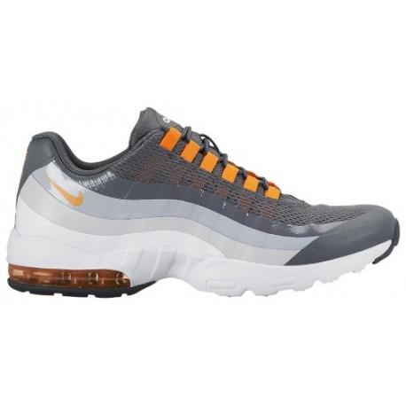 Nike Air Max 95 Ultra Women's Shoes Dark Grey/Cool Grey/Wolf Grey/Total Orange