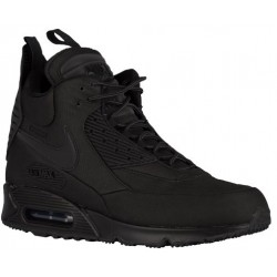 Nike Air Max 90 Sneakerboot - Men's - Casual - Shoes - Black/Black/Black-sku:84714002
