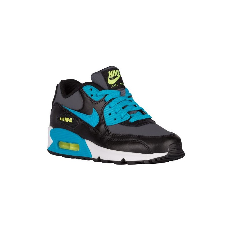 Nike Air Max 90 - Boys' Grade School - Running - Shoes - Black/ ...