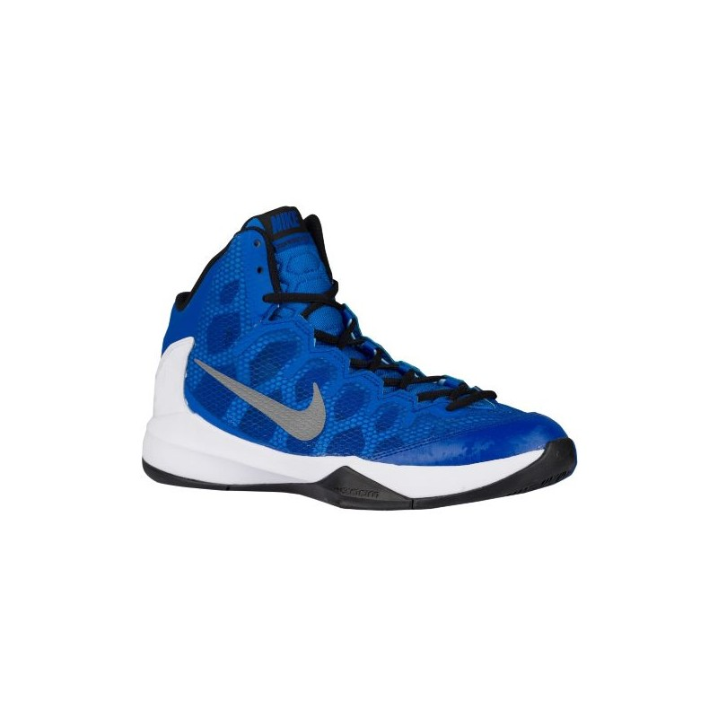 Nike Zoom Without A Doubt - Men's - Basketball - Shoes - Game Royal/White  ...