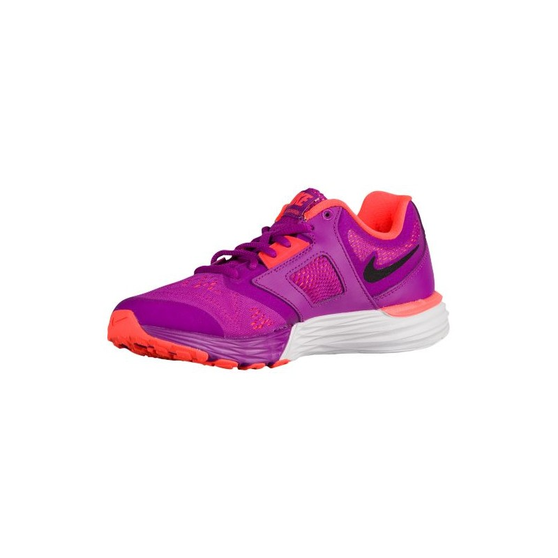 ... Nike Tri Fusion Run - Women's - Running - Shoes - Vivid Purple/Hyper  Orange ...