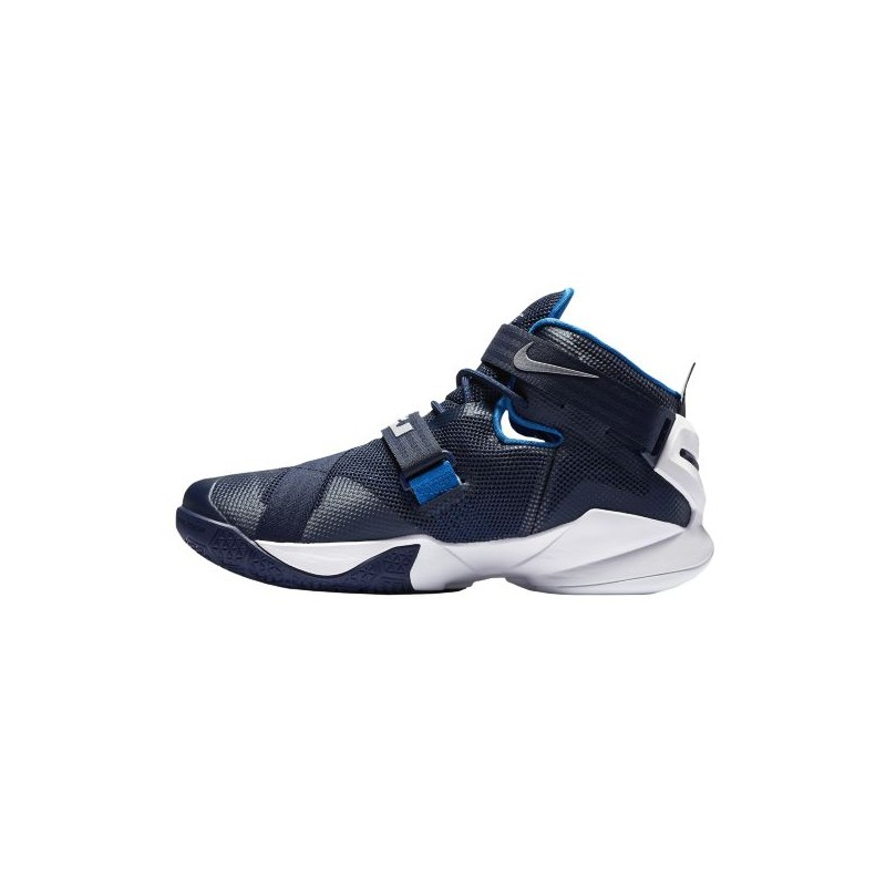 ... Nike Zoom Soldier 9 - Men's - Basketball - Shoes - LeBron James -  Midnight Navy ...