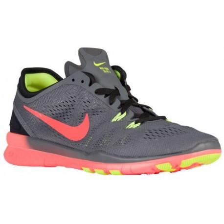 buy popular 3a260 23ef2 nike free 5.0 tr fit 4 mezzo print,Nike Free 5.0 TR Fit 5 - Women s -  Training - Shoes - Dark Grey Hyper Orange Black Volt-sku