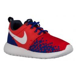Nike Roshe One - Boys' Grade School - Running - Shoes - Light Crimson/White/Racer Blue/Obsidian-sku:77782601