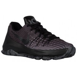 Nike KD 8 - Boys' Grade School - Basketball - Shoes - Kevin Durant - Black/Black/Dark Grey/Cool Grey-sku:68867001