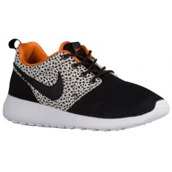 Nike Roshe One - Boys' Grade School - Running - Shoes - Black/Black/Clay Orange/Summit White-sku:20339001