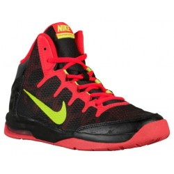 Nike Air Without A Doubt - Boys' Grade School - Basketball - Shoes - Black/Bright Crimson/Volt-sku:59982003