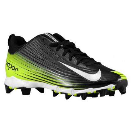 Nike Vapor Keystone 2 Low - Men's - Baseball - Shoes - Black/White/Volt-sku:84698017