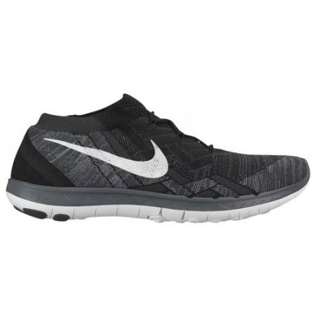 Nike Free 3.0 Flyknit 2015 - Women's - Running - Shoes - Black/White/