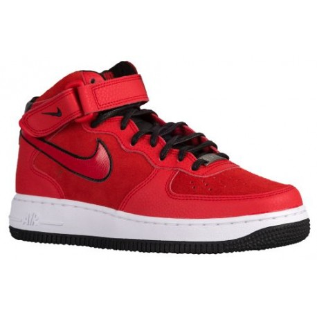 san francisco cc3f1 d4105 nike air force 1 red suede,Nike Air Force 1  07 Mid Suede - Women s -  Basketball - Shoes - University Red University Red-sku 07