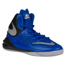 Nike Prime Hype DF II - Boys' Grade School - Basketball - Shoes - Game Royal/Black/Wolf Grey/Reflect Silver-sku:07613401