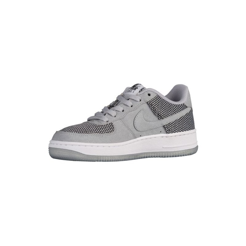 ... Nike Air Force 1 Low - Boys' Grade School - Basketball - Shoes - Wolf  ...