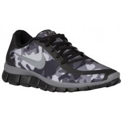 Nike Free 5.0 V4 - Women's - Running - Shoes - Black/Cool Grey/Wolf Grey/Anthracite-sku:95168005