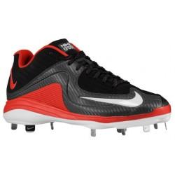 Nike Air MVP Pro Metal 2 - Men's - Baseball - Shoes - Black/University Red/White-sku:84685061
