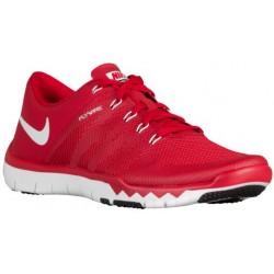Nike Free Trainer 5.0 V6 - Men's - Training - Shoes - Gym Red/White/Black-sku:23987610