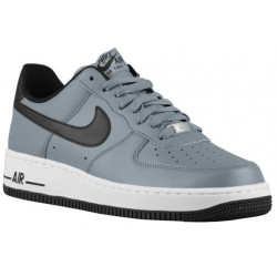 Nike Air Force 1 Low - Men's - Basketball - Shoes - Cool Grey/Black/White-sku:88298086