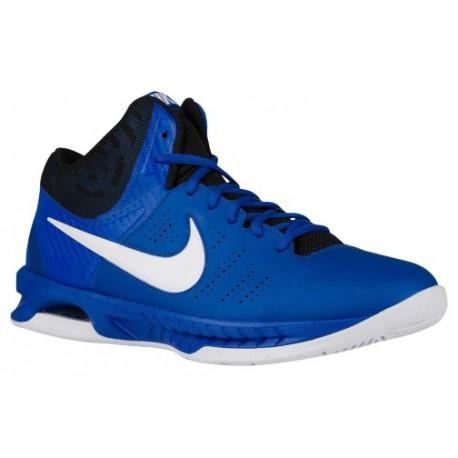 Men Shoes - Nike Air Visi Pro VI Basketball Shoes Royal/White