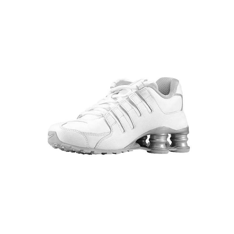 ... Nike Shox NZ SI Plus - Boys' Grade School - Running - Shoes - White ...