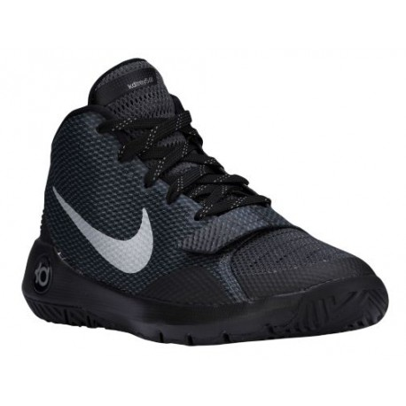 Nike KD Trey 5 III - Boys' Grade School - Basketball - Shoes - Black/Metallic Silver/Dark Grey/Anthracite-sku:68870001