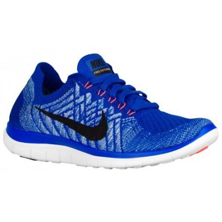 sports shoes d018f cdb41 Nike Free 4.0 Flyknit 2015 - Women's - Running - Shoes - Racer  Blue/University Blue/Hyper Orange/Black-sku:17076406