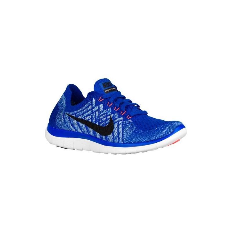 Nike Free 4.0 Flyknit 2015 - Women's - Running - Shoes - Racer Blue/ University ...