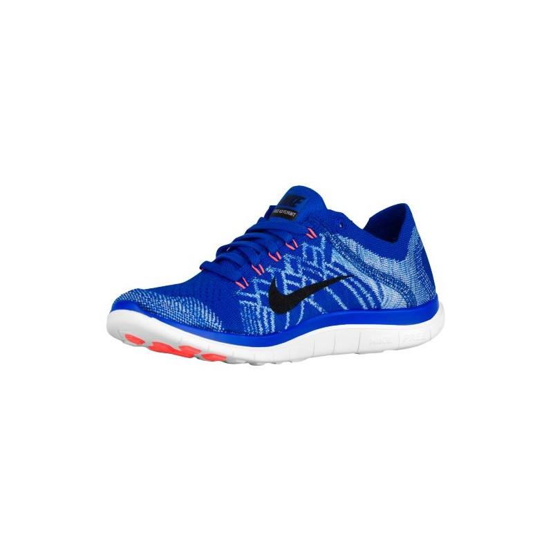 015f7a1e7c136 ... Nike Free 4.0 Flyknit 2015 - Women s - Running - Shoes - Racer  Blue University ...