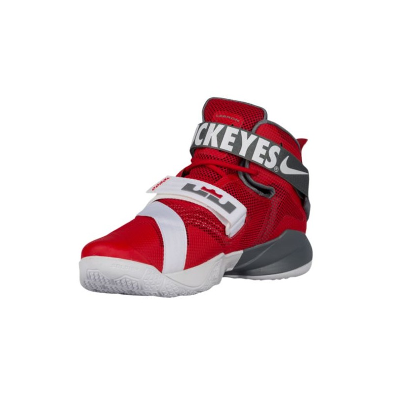 ... Nike Zoom Soldier 9 - Men's - Basketball - Shoes - LeBron James - University  Red ...