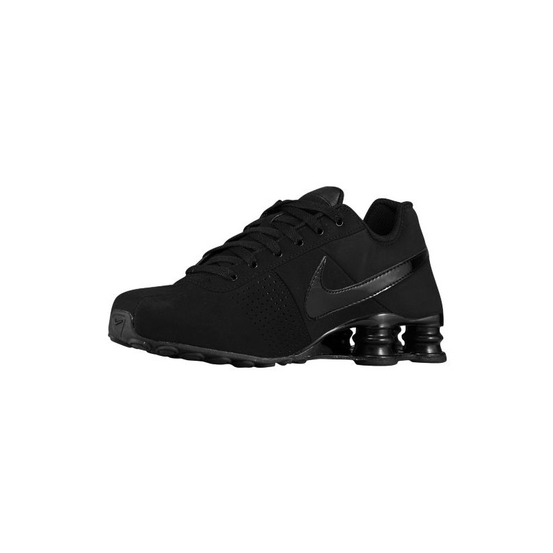 a4c5ef61d12 ... low cost nike shox deliver men shoes total black casual trainers  sneakers 317547 0ccef 1b41e